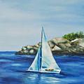 Rockport Sails by Maureen Baker