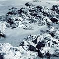 Rocks At Shoreline by Jennifer Ott