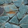 Rocks In A Wall by Robert Hamm