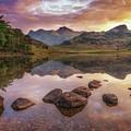 Rocks In Blea Tarn by James Billings
