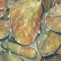 Rocks In Stream by Marlene Gremillion