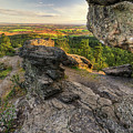 Rocks Of Sharon Overlook by Mark Kiver