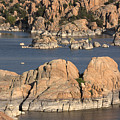 Rocks Of Watson Lake  by Jacki Smoldon
