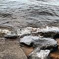Rocks On The Chesapeake by AJ Robinson