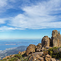 rocky Australian mountain summit by Andrew Balcombe
