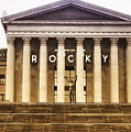 Rocky Balboa On The Art Museum Steps by Bill Cannon