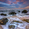 Rocky Beach At Sandy Hook by Rick Berk
