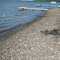 Rocky Beach On A Lake by Chris Hearn