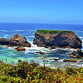 Rocky California Coast 006 by George Bostian