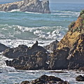 Rocky Coast by Diana Hatcher