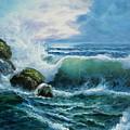 Rocky Coast by Imagine Art Works Studio