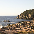 Rocky Coast Of Acadia by Frank Russell