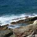 Rocky Coastline by Margaret Brooks