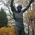 Rocky In The Fall by Jan Gilmore