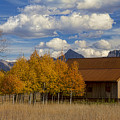 Rocky Mountain Autumn Country Barn by James BO Insogna