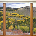 Rocky Mountain Autumn Picture Window View by James BO  Insogna