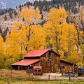 Rocky Mountain Autumn Ranch Landscape by James BO Insogna