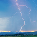 Rocky Mountain Front Range Foothills Lightning Strikes 1 by James BO Insogna