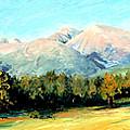 Rocky Mountain Panoramic by Mary Giacomini