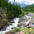 Rocky Mountain Stream by John Lautermilch
