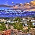 Rocky Mountain Sunset by Scott Mahon