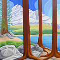 Rocky Mountain View 1 by Lynn Soehner