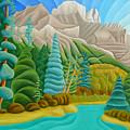 Rocky Mountain View 2 by Lynn Soehner