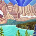 Rocky Mountain View 3 by Lynn Soehner