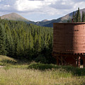 Rocky Mountain Water Tower by Jeffery Ball
