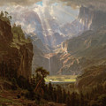 Rocky Mountains, Lander's Peak by Albert Bierstadt