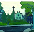 Rocky Neck Art Colony East Gloucester Ma by Debra Bretton Robinson