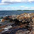 Rocky Point - Wreck Island by Debbie Oppermann
