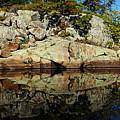 Rocky Reflection by Debbie Oppermann