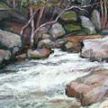 Rocky River by Estelle Schwarz