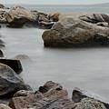 Rocky Shore by Eleanor Bortnick