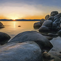 Rocky Shore by Maria Coulson