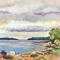 Rocky Shore by Rachel Sunnell