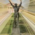 Rocky Statue by Trish Tritz
