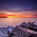 Rocky Sunrise by Andrew Slater