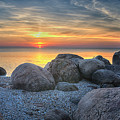 Rocky Sunset by Luis Cifuentes