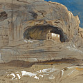 Rocky Valley Of Mosta. Malta. 1.30 P.m.3 April 1866 by Edward Lear