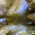Rocky Water Closeup 2 by Michael Mooney