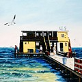 Rod And Reel Fishing Pier by Jerry SPANGLER