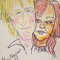 Rod Stewart And Cyndi Lauper Tour 2017 by Geraldine Myszenski