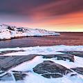 Rodebay Sunset by Richard Burdon