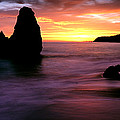 Rodeo Beach At Sunset, Golden Gate by Panoramic Images
