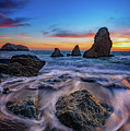 Rodeo Beach Sunset by Rick Berk