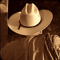 Rodeo Cowboy by American West Legend By Olivier Le Queinec