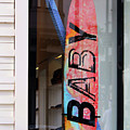 Rodeo Drive Surfboard by Art Block Collections