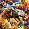 Rodeo by Leonid Afremov